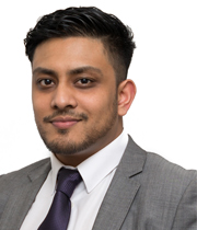 Zunaid Hoque, Client Account Administrator, Benham & Reeves Lettings