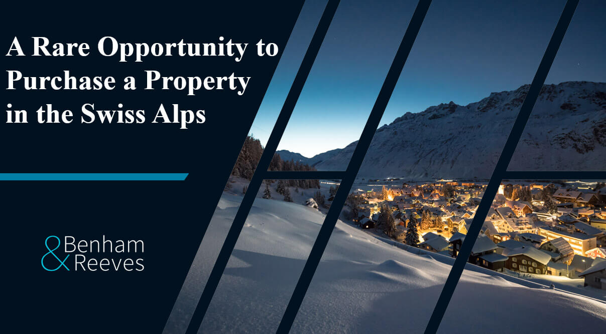A Rare Opportunity to Purchase a Property in the Swiss Alps