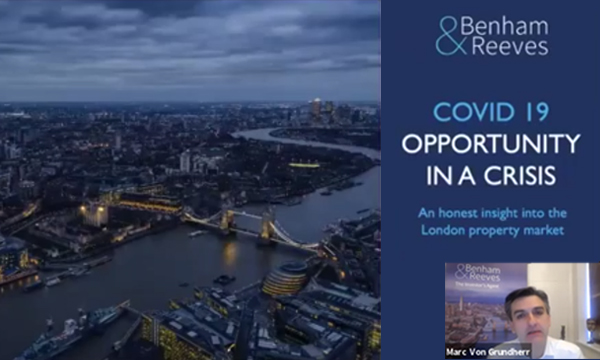 Opportunity in a crisis: An honest insight into the London property market