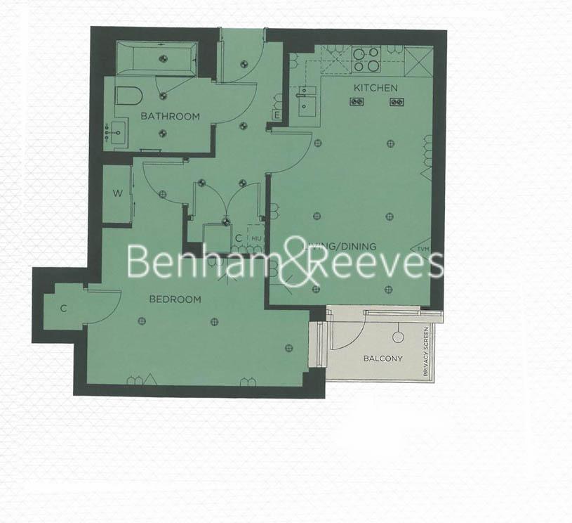 1 bedroom(s) flat to rent in Longfield Avenue, Ealing, W5-Floorplan