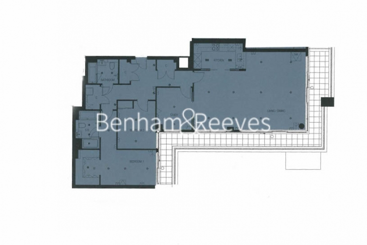 3 bedroom(s) flat to rent in Longfield Avenue, Ealing, W5-Floorplan