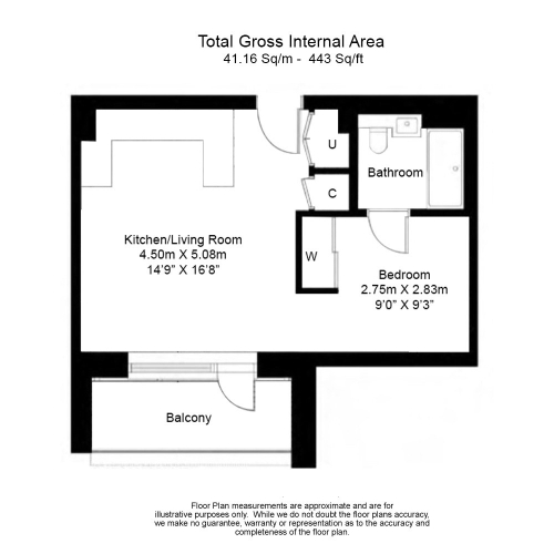 1 bedroom(s) flat to rent in Accolade Avenue, Southall, UB1-Floorplan
