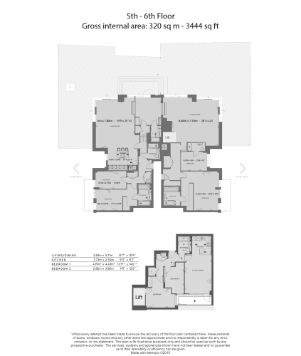 5 bedroom(s) flat to rent in Sovereign Court, Hammersmith, W6-Floorplan