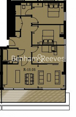 3 bedroom(s) flat to rent in Rosemary Building, Royal Mint Gardens, E1-Floorplan