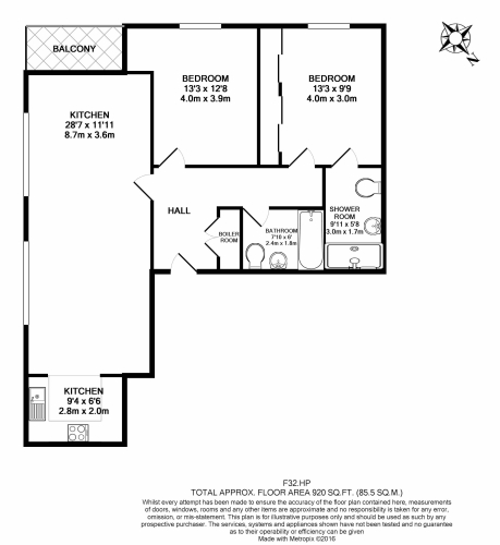 2 bedroom(s) flat to rent in Holland Park Avenue, Kensington, W11-Floorplan