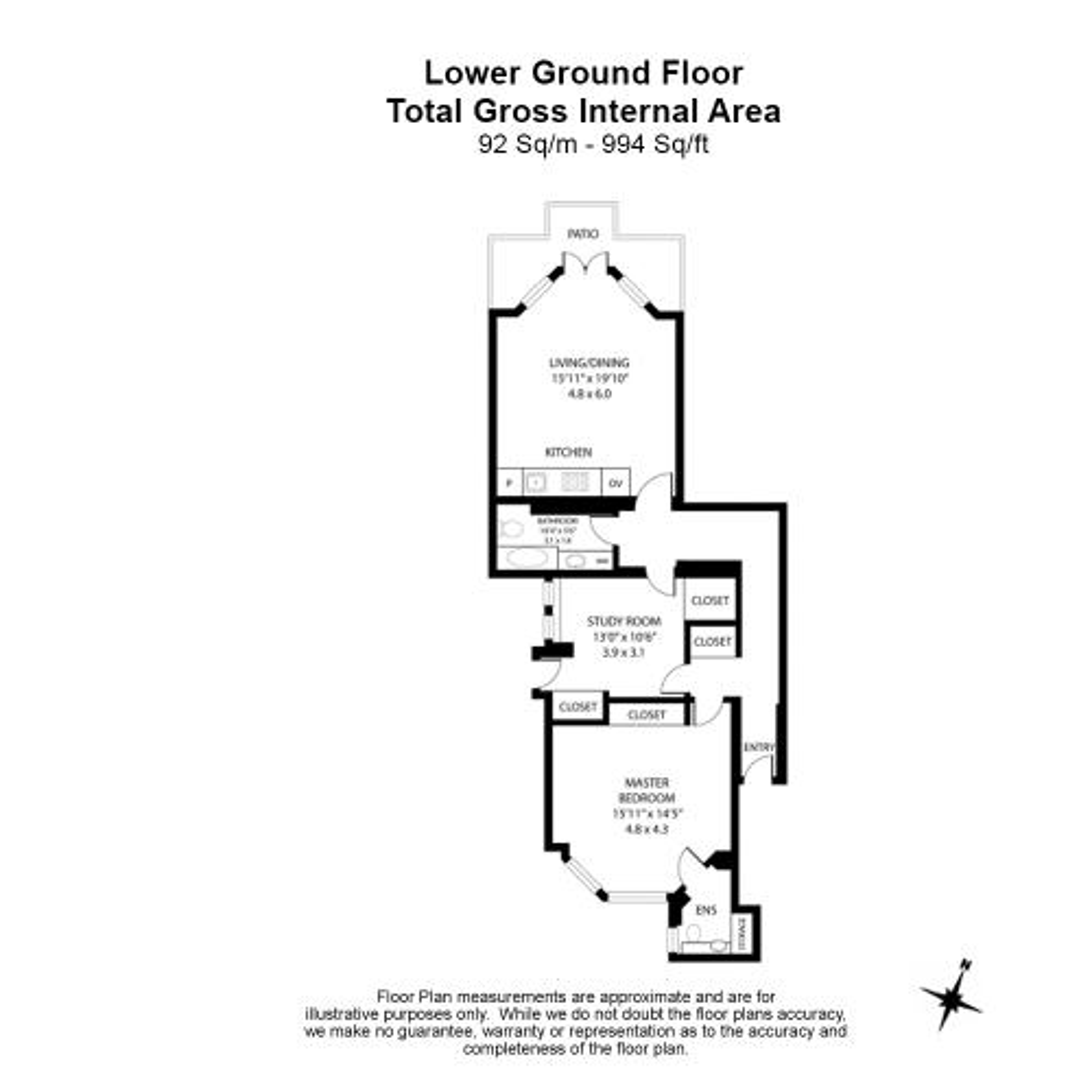 2 bedroom(s) flat to rent in Holland Park, Kensington, W11-Floorplan