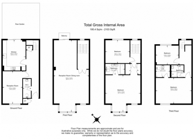 4 bedroom(s) house to rent in Windsor Way, West Kensington, W14-Floorplan