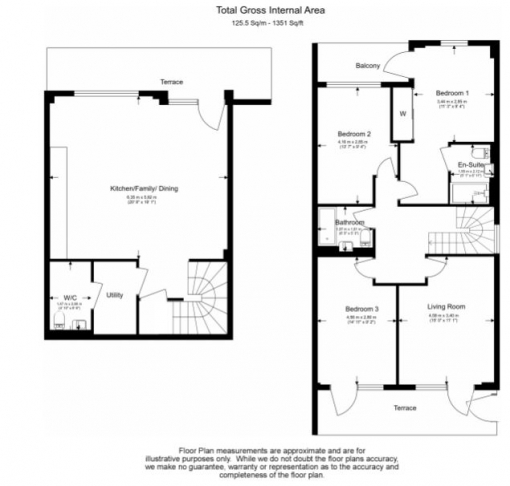 4 bedroom(s) flat to rent in Colindale Gardens, Colindale, NW9-Floorplan