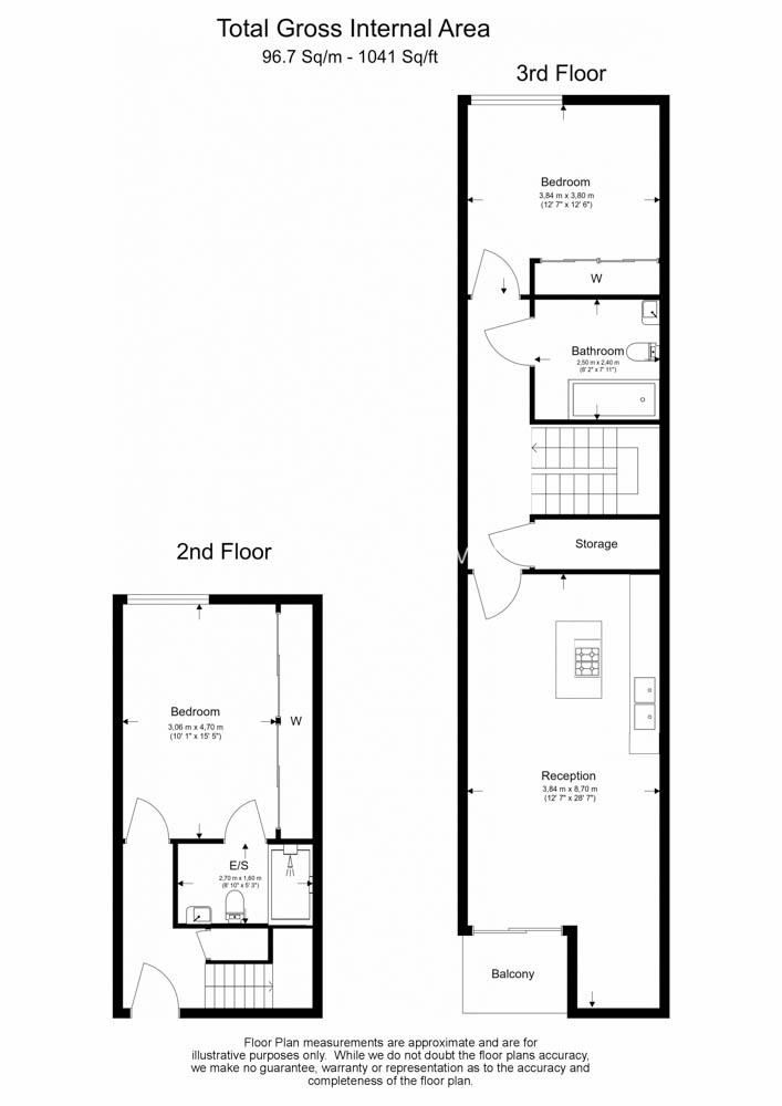 2 bedroom(s) flat to rent in Laycock Street, Highbury & Islington, N1-Floorplan