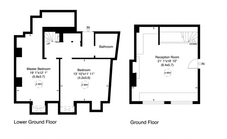 2 bedroom(s) flat to rent in Bell Yard, City, WC2A-Floorplan