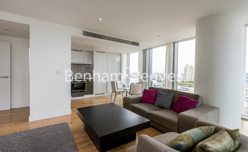 2 bedroom(s) flat to rent in Marsh Wall, Canary Wharf, E14-image 1