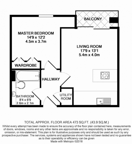 1 bedroom(s) flat to rent in Diprose Court, Canary Wharf, E3-Floorplan