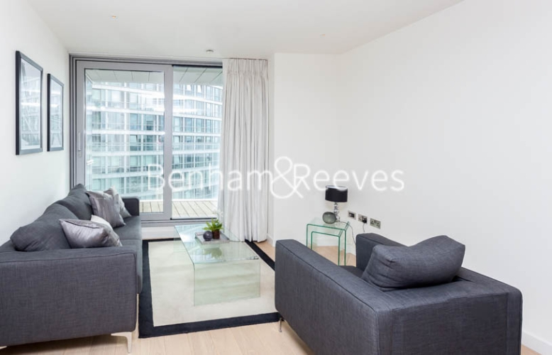 1 bedroom(s) flat to rent in Biscayne Avenue, Canary Wharf, E14-image 1