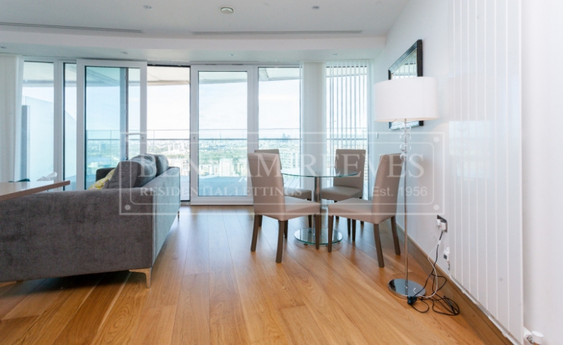 2 bedroom(s) flat to rent in Arena Tower, Canary Wharf, E14-image 3