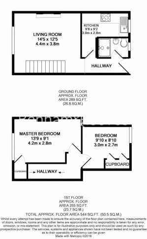 2 bedroom(s) flat to rent in Newell Street, Canary Wharf, E14-Floorplan