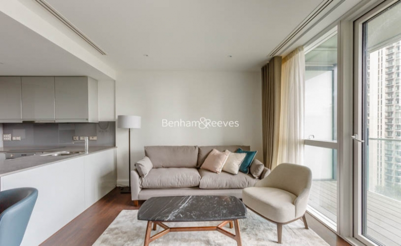 1 bedroom(s) flat to rent in Sirocco Tower, Harbour Quay, E14-image 1