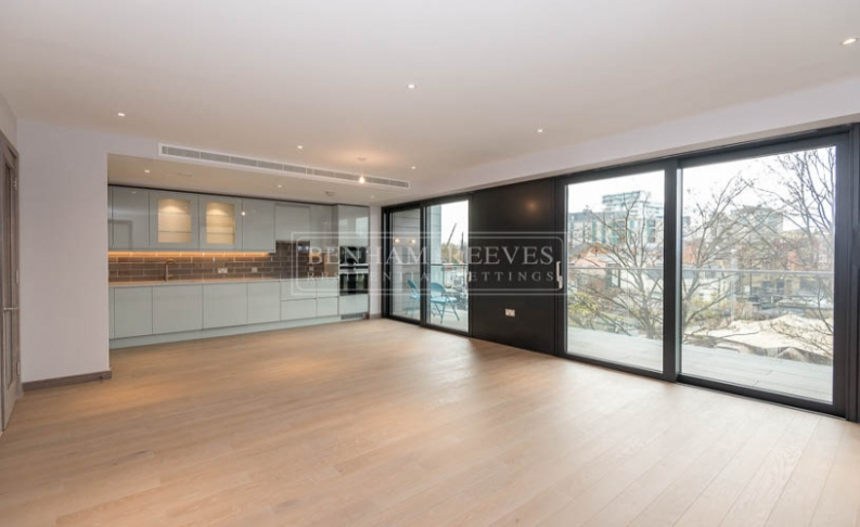 3 bedroom(s) flat to rent in Wandsworth, Imperial Wharf, SW18-image 2