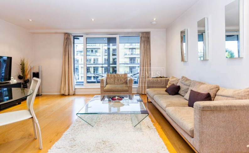 2 bedroom(s) flat to rent in Aspect court, Imperial Wharf, SW6-image 1