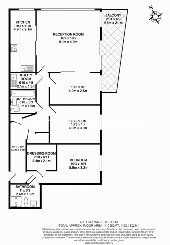 3 bedroom(s) flat to rent in Imperial Wharf, Fulham, SW6-Floorplan