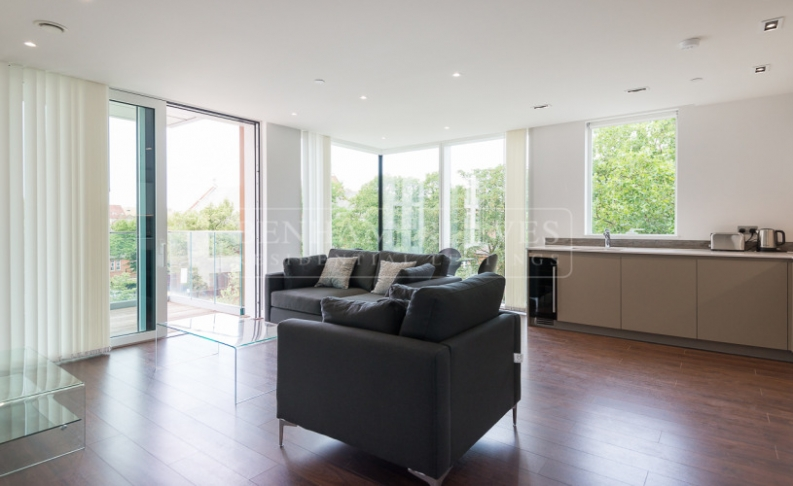 1 bedroom(s) flat to rent in Woodberry Down, Highgate, N4-image 4