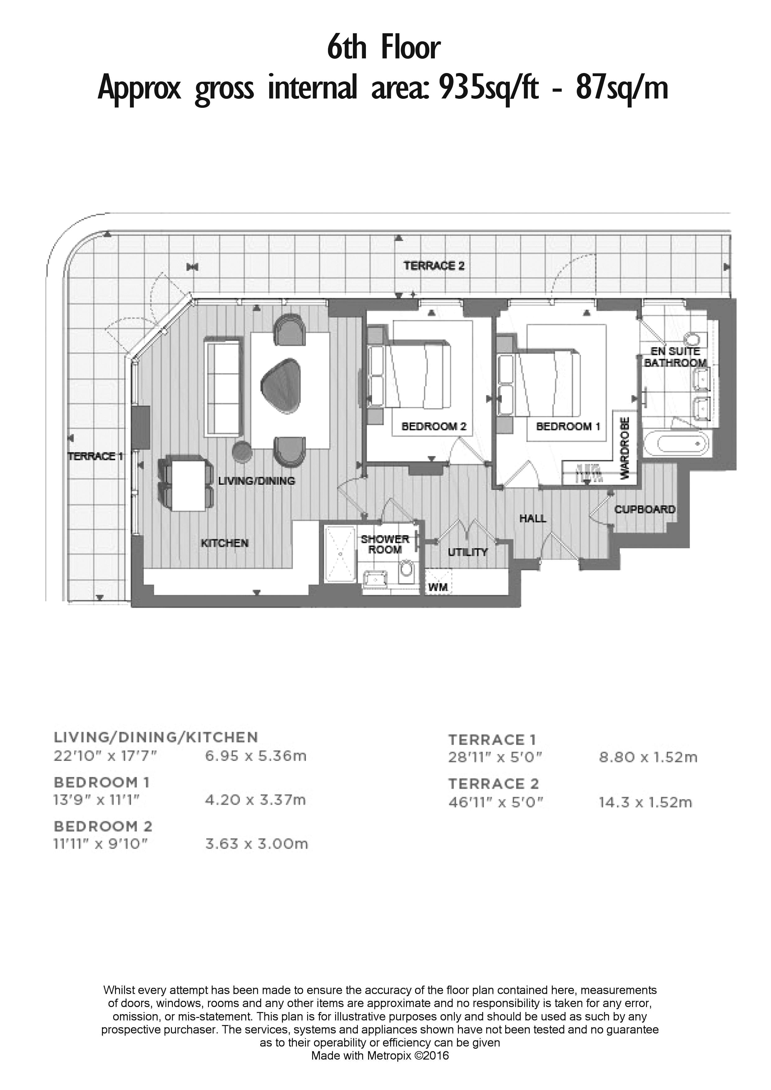 2 bedroom(s) flat to rent in Royal Arsenal Riverside, Woolwich, SE18-Floorplan