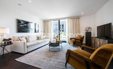 3 bedroom(s) flat to rent in Charles Clowes, Nine Elms, SW11-image 1