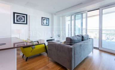 2 bedroom(s) flat to rent in Arena Tower, Canary Wharf, E14-image 1