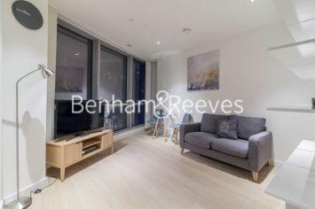 Studio flat to rent in Charrington Tower, Providence Wharf, E14-image 1