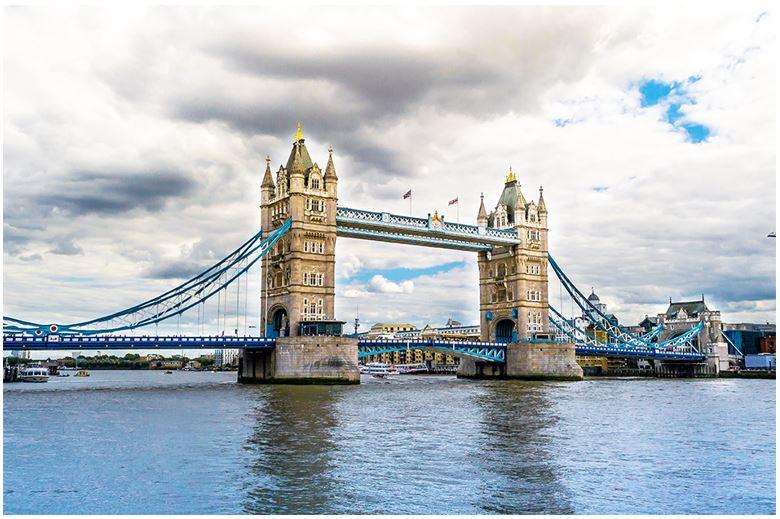 in name london river of
