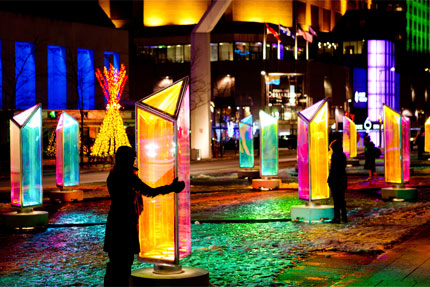 Winter Lights at Canary Wharf – Canary Wharf
