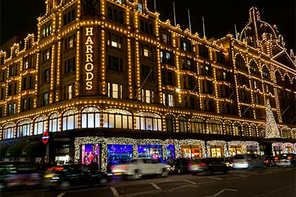 London's Christmas Lights – Various Locations