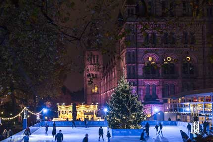 Natural History Museum Ice Rink – Natural History Museum