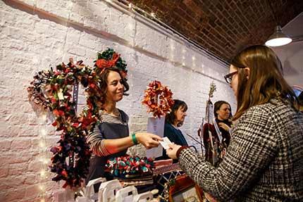 London's Annual Zero Waste Christmas Market - The Boiler House